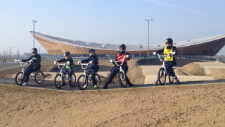 Go-Ride youngsters help to officially open Lee Valley VeloPark
