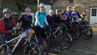 New women-only mountain bike course for beginners at the National Cycling Centre