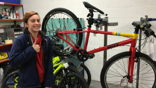 Behind the scenes at Evans Cycles with the National Youth Forum
