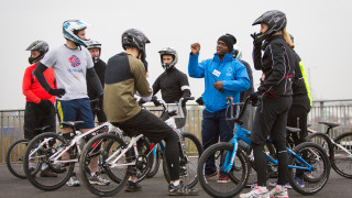 London Go-Ride coach takes the sport of BMX to inner city schools