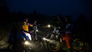Five reasons to try mountain biking in the dark