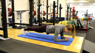 Core stability exercises and cycling training