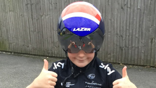 British Cycling member wins signed Lazer Wasp Air helmet
