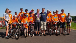 Dani King opens British Cycling funded Odd Down Cycle Circuit