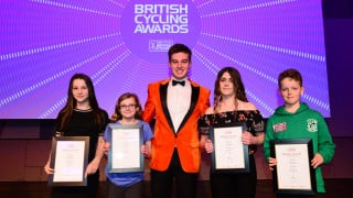 Recognition for world-class talent and rising stars at 2018 British Cycling Awards dinner