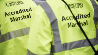 Volunteer as a British Cycling accredited marshal