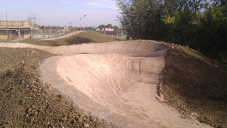 Lordship Loop mountain bike and BMX pump track launch