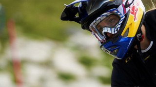 Carpenter takes second at Fort William Downhill World Cup