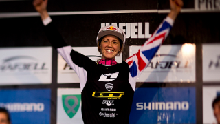 Rachel Atherton clinches Overall World Cup title in Norway
