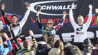 Beaumont wins at British Cycling Mountain Bike Four Cross Series opener