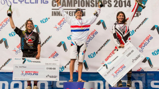 Rachel Atherton wins third successive British Cycling National Mountain Bike Downhill Championship