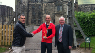 Alton Castle achieves status for delivering led mountain bike rides