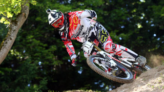 Josh Bryceland and Manon Carpenter take UCI Mountain Bike World Cup downhill titles
