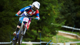 Rachel Atherton wins round two of the 2015 UCI Mountain Bike World Cup Downhill Series in Fort William