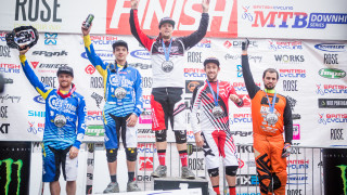 Carpenter and Smith crowned 2015 British Cycling MTB Downhill Series champions in Antur Stiniog
