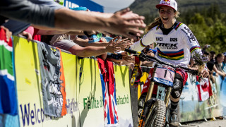 Rachel Atherton extends UCI Mountain Bike Downhill World Cup winning run to nine at Fort William