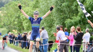 Bishop triumphs to take Bath RC Junior Road Race title