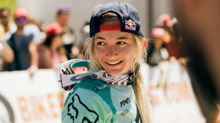 Second world cup win of the season for Seagrave