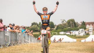 Flawless Ferguson and Last defend HSBC UK   National Mountain Bike