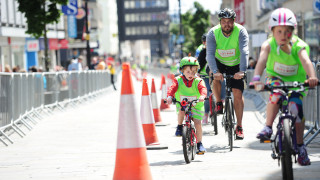 Research shows significant fall in air pollution during HSBC UK City Ride events