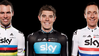 Team Sky include 10 British riders in 2012 squad