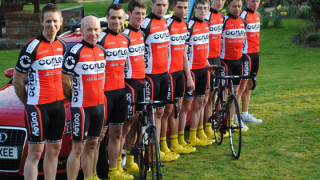 2012 line-up for Team Corley Cycles-Blue