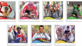 Mark Cavendish to feature in new stamp collection