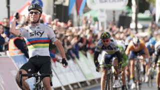 Mark Cavendish sprints to stage three triumph at Tour of Britain