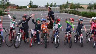 Bikes replace trolleys at Taw Velo Youth Cycle Races
