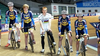 Launch time for Velocity WD-40 Junior and Youth Cycling team