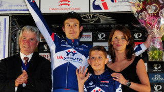 Jon Mould gets his first Tour Series win in Colchester