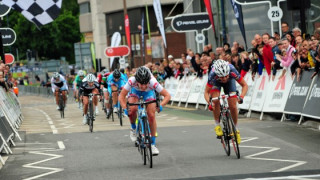 Barnes bounces back from crash to victory in Woking