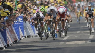 Frustration continues for Cavendish on the road to Tours
