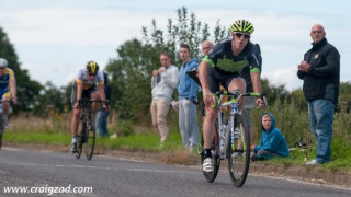 Road: Duggleby takes the Sharlston honours in sprint