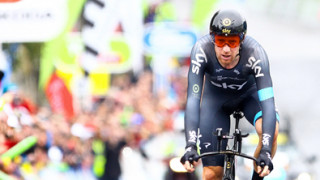 Sir Bradley Wiggins leads Tour of Britain after time trial win