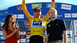 Wiggins keeps Tour of Britain lead as Bennett wins stage five in Caerphilly