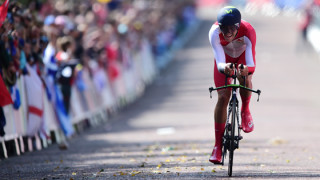 Alex Dowsett wins Commonwealth Games time-trial gold