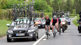 British Cycling member wins experience in Madison team car