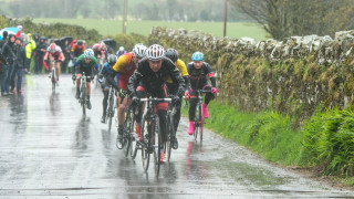 Wind and rain greet riders at Isle of Man Youth Tour