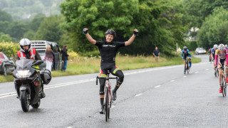 Nathan Draper wins Hatherleigh Junior Road Race