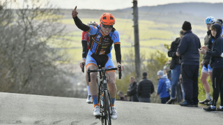Gijs Meijer wins stage two of the IoM Junior Tour