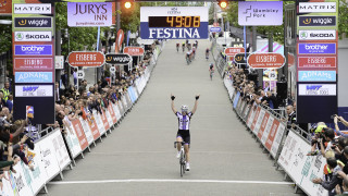 Jess Roberts solos to victory at the Wembley leg of the Matrix Fitness Grand Prix Series