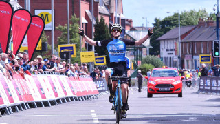 Tidball prevails in last-gasp sprint to Junior CiCLE Classic victory