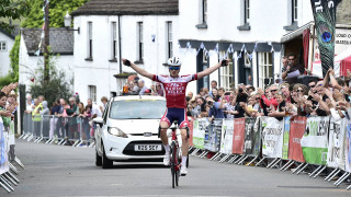 Nally pulls away to secure Monmouthshire Junior Grand Prix victory