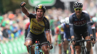 Groenewegen denies Ewan a fourth stage win in Cheltenham