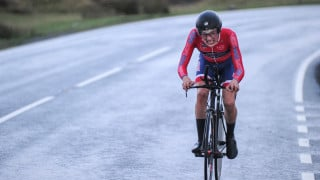 Hayter takes early Junior Tour of Wales lead after opening night's time trial
