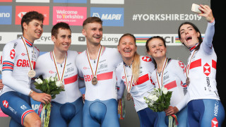Great Britain win bronze on day one of 2019 UCI Road World Championships