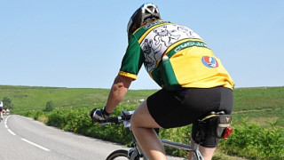 Participant in a sportive is supported by British Cycling after an incident involving a third party vehicle