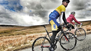 World-famous sportsmen prepare for Marie Curie Cancer Care Etape Pennines