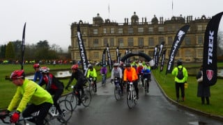 Third time snowy for the Endura Trek Lionheart sportive